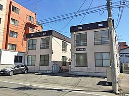 北海道札幌市中央区南十六条西9丁目の賃貸アパートの外観