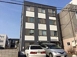 北海道札幌市中央区南十三条西9丁目の賃貸マンションの外観