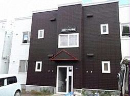 北海道小樽市潮見台2丁目の賃貸アパートの外観