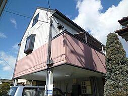 兵庫県姫路市飾磨区西浜町2丁目の賃貸アパートの外観