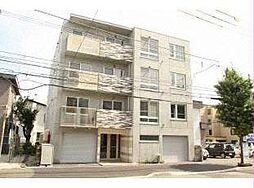 北海道札幌市白石区本郷通12丁目北の賃貸マンションの外観