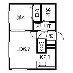 仮)栄通8丁目MS[1階]の間取り