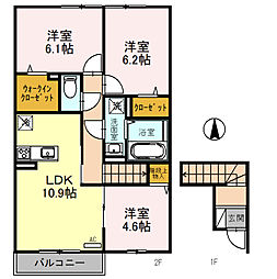 JR京浜東北・根岸線 北浦和駅 バス7分 東瀬ケ崎下車 徒歩3分の賃貸アパート