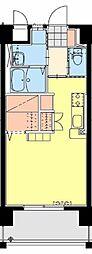micori (ミコリ) 5階ワンルームの間取り
