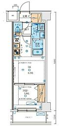 JR京浜東北・根岸線 西川口駅 徒歩5分の賃貸マンション 2階1DKの間取り
