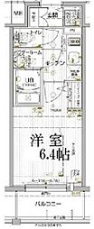 JR山陽本線 兵庫駅 徒歩5分の賃貸マンション 10階1Kの間取り