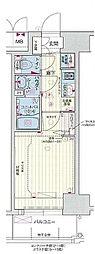 JR山陽本線 神戸駅 徒歩4分の賃貸マンション 5階1Kの間取り