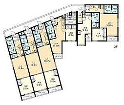 東京メトロ南北線 白金台駅 徒歩2分の賃貸アパート 3階1LDKの間取り