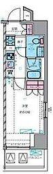 東京メトロ丸ノ内線 四谷三丁目駅 徒歩7分の賃貸マンション 6階1Kの間取り