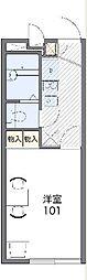 【敷金礼金0円!】レオパレスパームヒルズB
