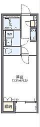 JR常磐線 大甕駅 徒歩14分の賃貸アパート 2階1Kの間取り