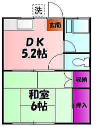 つきみ野駅 3.3万円