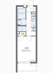 JR京浜東北・根岸線 蒲田駅 徒歩15分の賃貸マンション 1階1Kの間取り