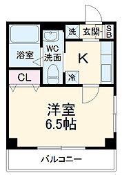 JR京葉線 新浦安駅 徒歩25分の賃貸マンション 1階1Kの間取り