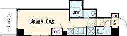 東京メトロ日比谷線 三ノ輪駅 徒歩5分の賃貸マンション 5階ワンルームの間取り