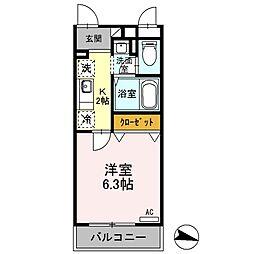 【敷金礼金0円!】東武伊勢崎線 大袋駅 徒歩9分