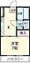 間取り,1DK,面積26.46m2,賃料6.5万円,JR中央線 国立駅 徒歩17分,JR中央線 西国分寺駅 徒歩12分,東京都国分寺市日吉町3丁目
