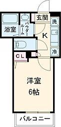 東急田園都市線 池尻大橋駅 徒歩3分の賃貸マンション 1階1Kの間取り