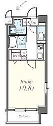 東京メトロ南北線 東大前駅 徒歩5分の賃貸マンション 1階1Kの間取り