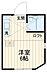 間取り,ワンルーム,面積11.73m2,賃料4.2万円,JR横須賀線 衣笠駅 徒歩4分,,神奈川県横須賀市衣笠栄町2丁目