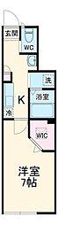JR京浜東北・根岸線 浦和駅 徒歩7分の賃貸マンション 1階1Kの間取り
