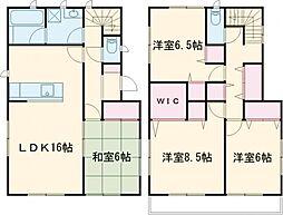 東武宇都宮線 東武宇都宮駅 徒歩36分の賃貸一戸建て 1階4LDKの間取り