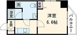 AZEST立石R 12階1Kの間取り