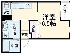 阪急宝塚本線 曽根駅 徒歩3分の賃貸アパート