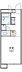 間取り,1K,面積20.37m2,賃料3.3万円,東武伊勢崎線 野州山辺駅 徒歩16分,,栃木県足利市南大町208