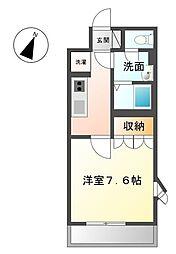 JR土讃線 善通寺駅 徒歩21分の賃貸アパート 1階1Kの間取り