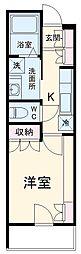 埼玉高速鉄道 戸塚安行駅 徒歩16分の賃貸アパート 2階1Kの間取り