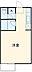 間取り,1K,面積24.29m2,賃料5.5万円,阪急京都本線 南茨木駅 徒歩6分,大阪モノレール本線 南茨木駅 徒歩5分,大阪府茨木市若草町