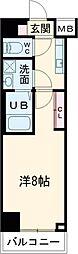 (仮称)レオーネ台東三ノ輪 2階1Kの間取り