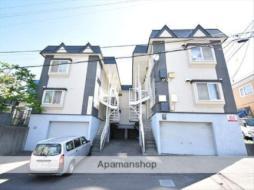 札幌市営東豊線 福住駅 バス16分 観音前下車 徒歩4分の賃貸アパート