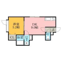 菊水駅 4.3万円
