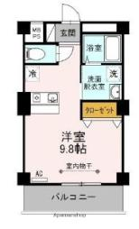 仙台市営南北線 泉中央駅 徒歩12分の賃貸アパート 1階ワンルームの間取り