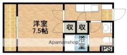 JR東海道新幹線 掛川駅 バス21分 井崎下車 徒歩3分の賃貸アパート 1階1Kの間取り