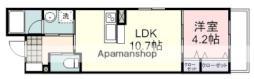 JR東海道本線 静岡駅 バス12分 本通六丁目下車 徒歩3分の賃貸マンション 5階1LDKの間取り