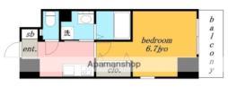 ガイドウェイバス志段味線 大曽根駅 徒歩3分の賃貸マンション 9階1Kの間取り