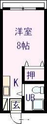 名手駅 2.5万円