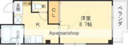 コラウーペ八島 5階1Kの間取り