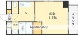 Osaka Metro谷町線 守口駅 徒歩4分の賃貸マンション 5階1Kの間取り