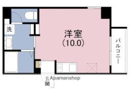 Osaka Metro千日前線 玉川駅 徒歩1分の賃貸マンション 7階ワンルームの間取り