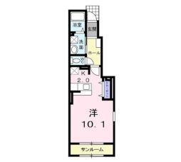 藤崎駅 4.4万円