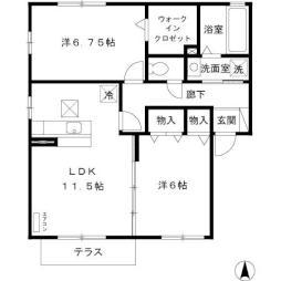 結城駅 6.8万円