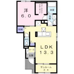 北中込駅 5.6万円