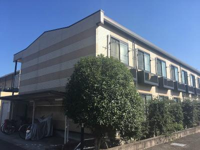 外観,1K,面積22.35m2,賃料3.2万円,JR東北本線 矢板駅 徒歩14分,,栃木県矢板市中